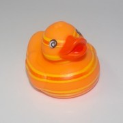 Bath - Duck Orange Stripes
